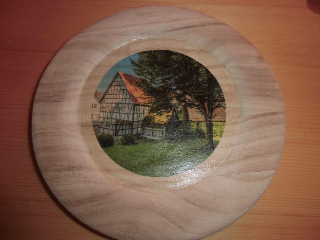 Transfer Holzteller