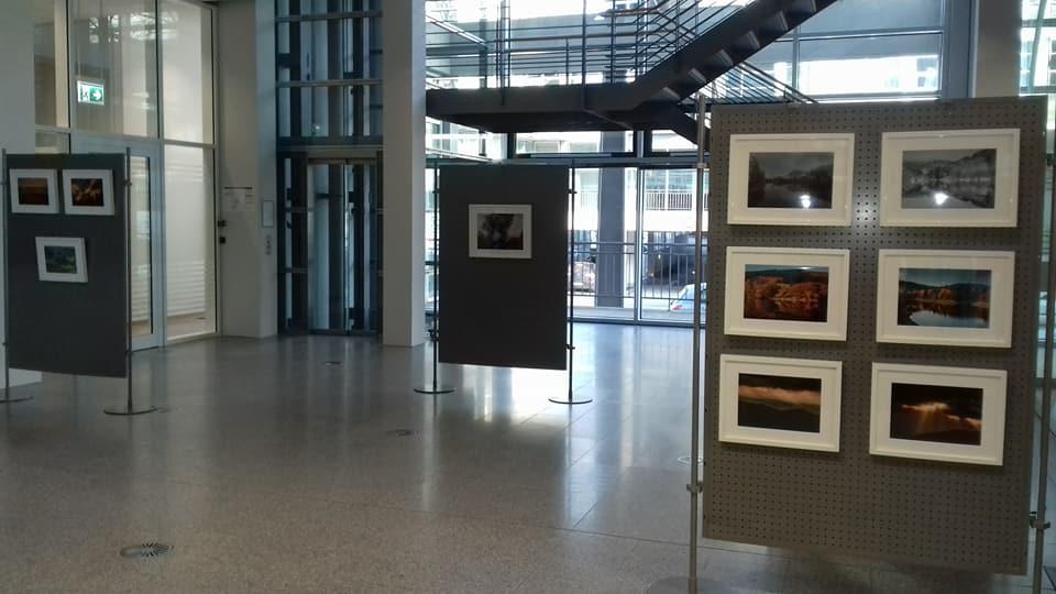 Plakat Sparkasse Lüdenscheid Bilderausstellung 2